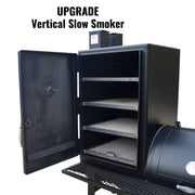 Lone Star Grillz Vertical Slow Smoker