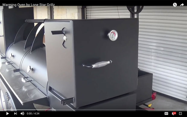 "24"" Offset Vertical Smoker"