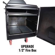 "Lone Star Grillz 1/2"" Fire Box"