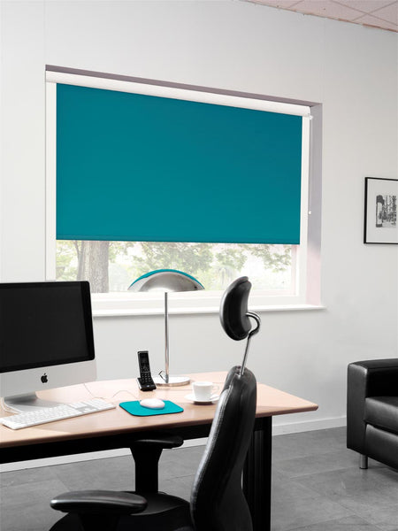 Office Carnival Teal Blockout System