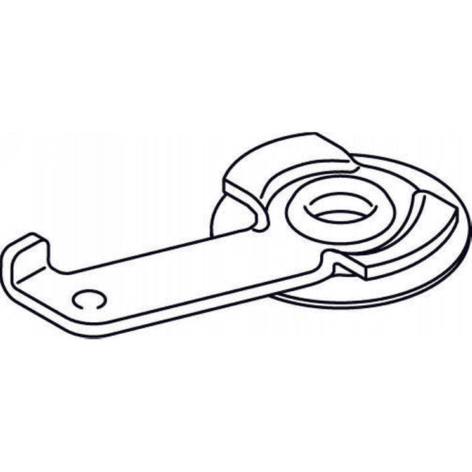 3825 - Clamp with washer - (10pcs)