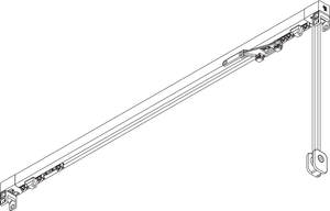 Cord Operated Curtain Track - SG 3870