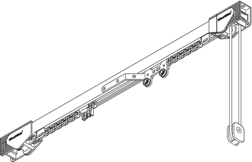 Cord Operated Curtain Track - SG 3900