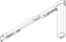 Electrically Operated Curtain Track - SG 5100 Autoglide