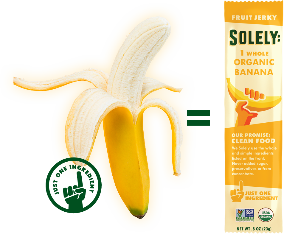 Organic Banana Fruit Jerky