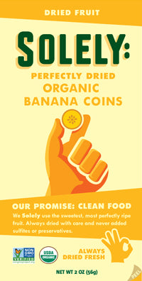 Organic Banana Dried Fruit