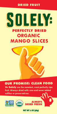 Organic Mango Dried Fruit