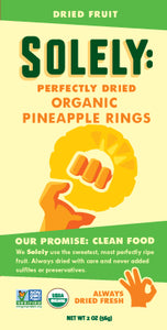 Organic Pineapple Dried Fruit