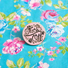 F*ck Off Floral Pin - Extreme Largeness Wholesale