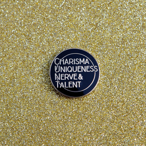 CHARISMA UNIQUENESS NERVE & TALENT PIN - PACK OF 5 - Extreme Largeness Wholesale