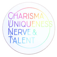 CHARISMA UNIQUENESS NERVE & TALENT COASTER - PACK OF 3 - Extreme Largeness Wholesale