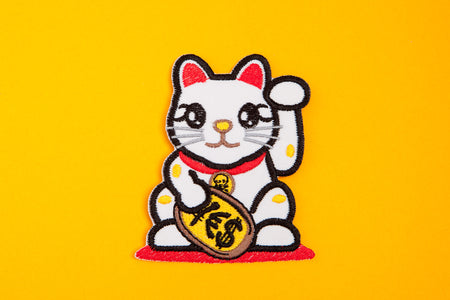 LUCKY CAT PATCH - PACK OF 6