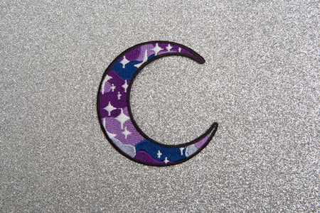 GALAXY MOON PATCH - PACK OF 6