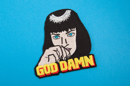 MIA WALLACE PATCH - PACK OF 6