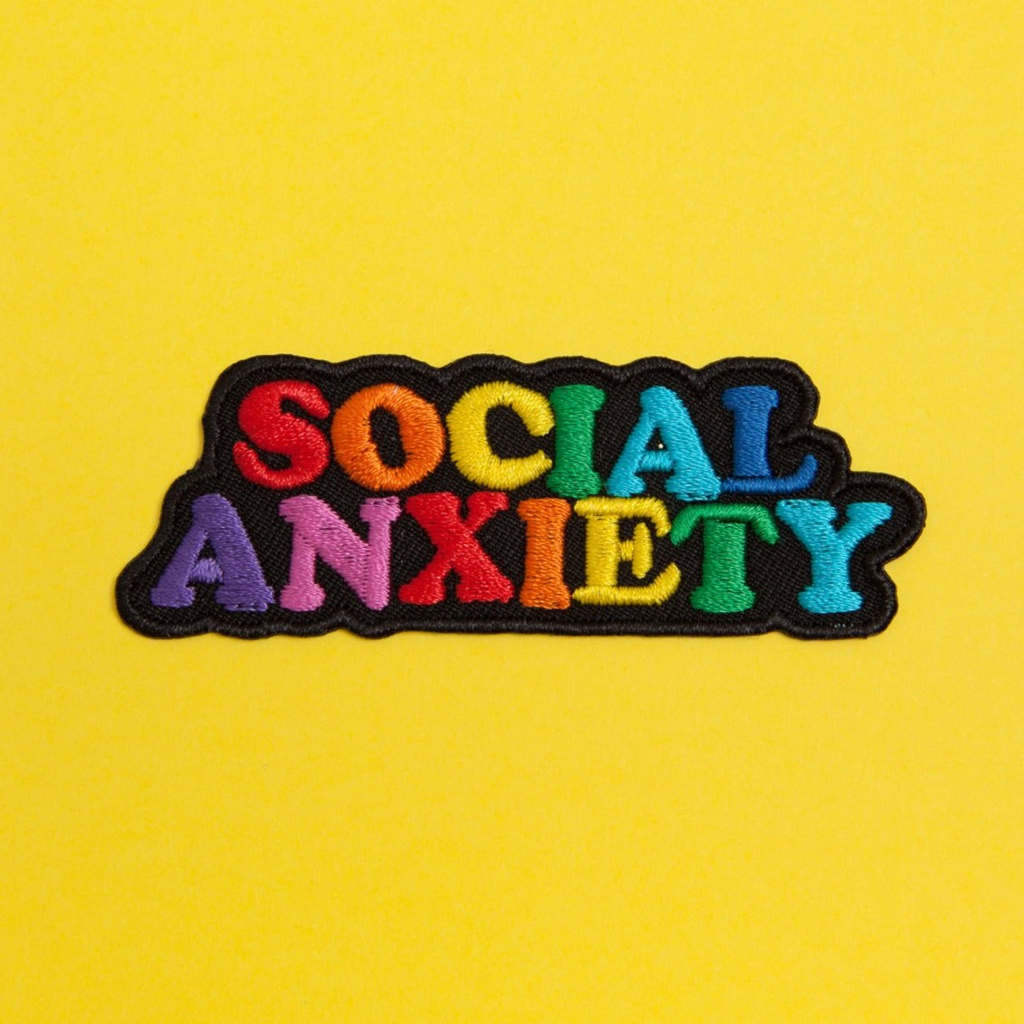 SOCIAL ANXIETY PATCH - Extreme Largeness Wholesale