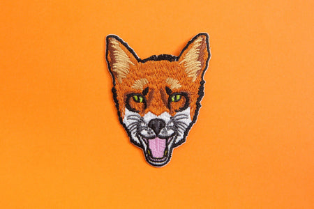 FOX PATCH - PACK OF 6