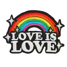 LOVE IS LOVE PATCH - PACK OF 6