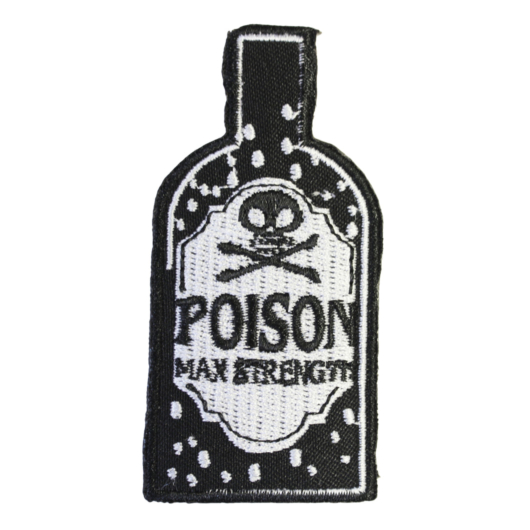 POISON BOTTLE PATCH - PACK OF 6