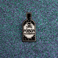 POISON ENAMEL PIN - PACK OF 5