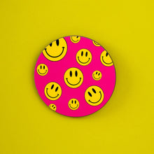 SMILEY COASTER - PACK OF 3 - Extreme Largeness Wholesale