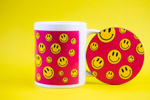 SMILEY COASTER - PACK OF 3