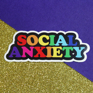 Social Anxiety Sticker - Extreme Largeness Wholesale