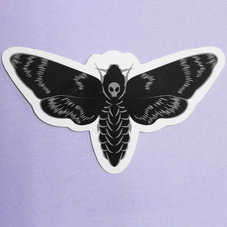 MOTH STICKER - PACK OF 3 - Extreme Largeness Wholesale