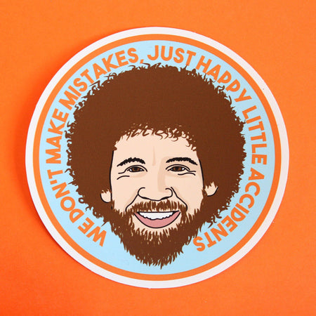 Bob Ross Sticker - Extreme Largeness Wholesale