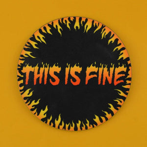 THIS IS FINE COASTER - PACK OF 3 - Extreme Largeness Wholesale