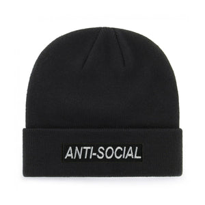 ANTI-SOCIAL BEANIE - PACK OF 3 - Extreme Largeness Wholesale