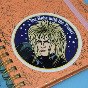 JARETH GOBLIN KING VINYL STICKER - PACK OF 3