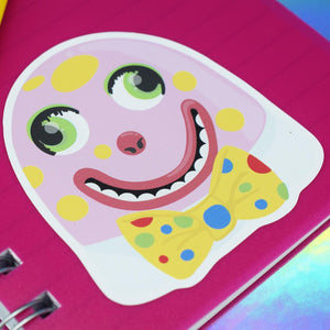 MR BLOBBY VINYL STICKER - PACK OF 3 - Extreme Largeness Wholesale