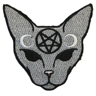 GOTHIC CAT PATCH - PACK OF 6 - Extreme Largeness Wholesale