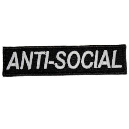 ANTI-SOCIAL PATCH - PACK OF 6 - Extreme Largeness Wholesale