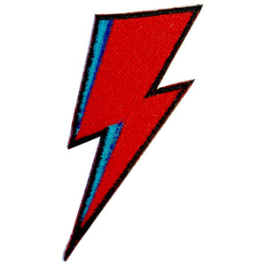 DAVID BOWIE LIGHTNING BOLT PATCH - PACK OF 6 - Extreme Largeness Wholesale