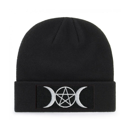 PENTAGRAM AND MOONS BEANIE - PACK OF 3 - Extreme Largeness Wholesale