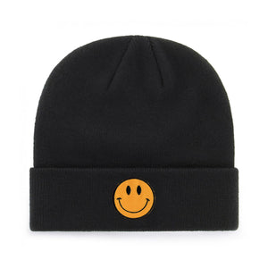 SMALL SMILEY BEANIE - PACK OF 3
