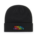 SOCIAL ANXIETY BEANIE - PACK OF 3 - Extreme Largeness Wholesale