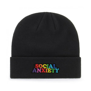 SOCIAL ANXIETY BEANIE - PACK OF 3