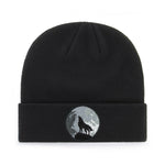 WOLF AND MOON BEANIE - PACK OF 3 - Extreme Largeness Wholesale