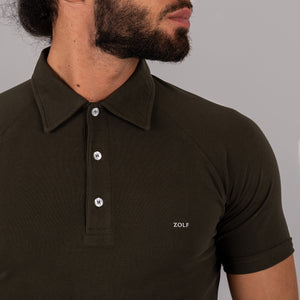 ECOS 505 - polo verde slim fit