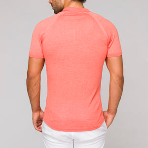 MURI - polo coral slim fit