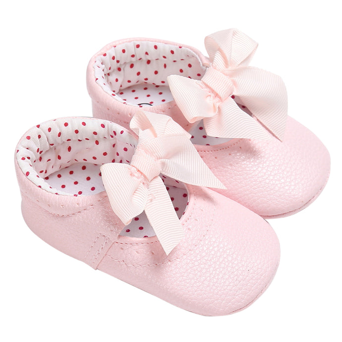Baby Girls Princess Bowknot Mocassins