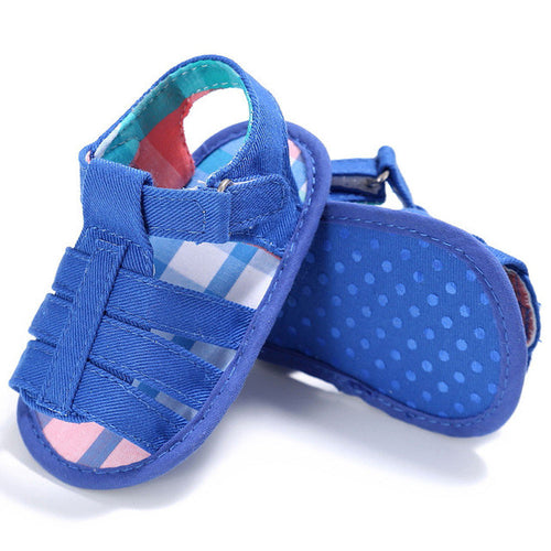 Baby Boys Soft Sole Sandals