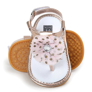Baby Girls Sandal with Tassel Flower
