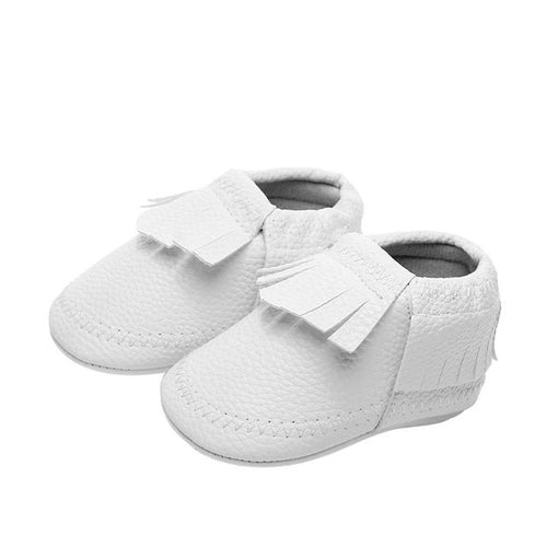 Baby Boys Moccs (black or white)