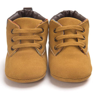 Baby Boys Hightop Brown Boots