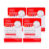 4-Pack Wet Cleaning Cotton Bundle