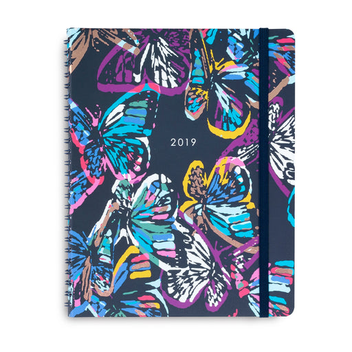 Vera Bradley Monthly Planner, Butterfly Flutter (Jan-Dec)