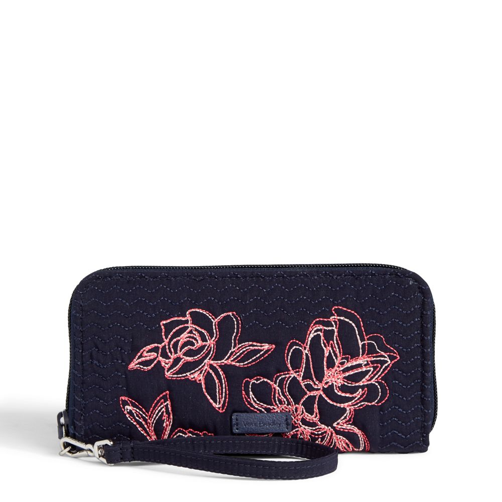 Iconic RFID Accordion Wristlet